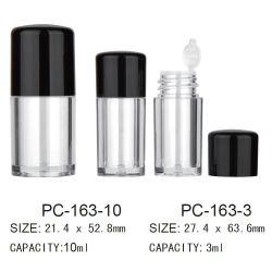 10ml/3ml de plástico redondo Cosmetic polvo suelto Jar