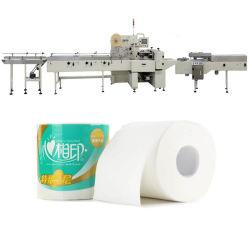 Núcleo automático de bobinas de papel higiénico de la máquina de embalaje