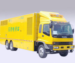Isuzu Fvz 500квт 600 квт 700квт аварийный источник питания автомобиля