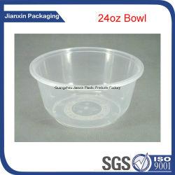750ml de la Comida de plástico desechables recipiente con tapa
