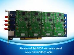 GSM400p 4 Portas SIM GSM Cartão asterisco