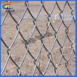 Enduit de PVC Cour Sport maillon de chaîne en acier galvanisé de Wire Mesh