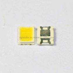 Plcc2 2835 T0.8mm 0.2watt superficie blanca de alimentación central tipo SMD LED de color blanco