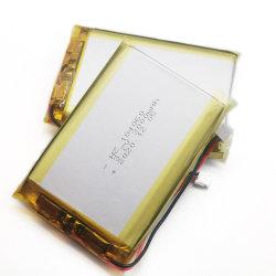 공장 직영 제공 104060 3000mAh 3.7V 패드 휴대폰 노트북 충전식 소형 리튬 폴리머 이온 배터리 팩(전원 은행