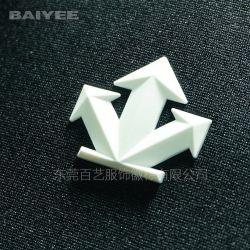 관례 3D Garmet를 위한 고밀도 실리콘 열전달 로고 레이블