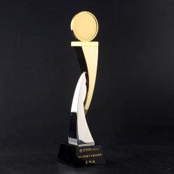 2020년 기념일 파티 Sovenir 경쟁은 주문 3D 금속 금에 의하여 도금된 스포츠 트로피 컵을 수여한다