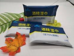 Desinfectante de OEM con CE, las aprobaciones FDA toallitas de alcohol de limpieza para la vida cotidiana con la norma ISO9001