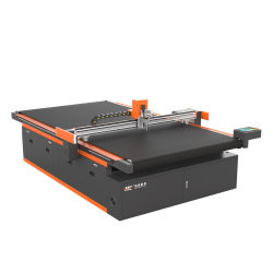 Monatliche Angebote 1625 Auto Feed CNC Vibrationsmesser PVC-Gewebe Schneidemaschine