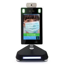 Bureau de la mesure de température de reconnaissance de visage de la porte de la caméra thermique du système d'accès