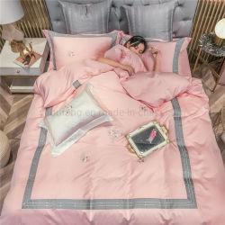 Made in China Multi Color estilo de moda ropa de cama tejido de algodón para cama de matrimonio