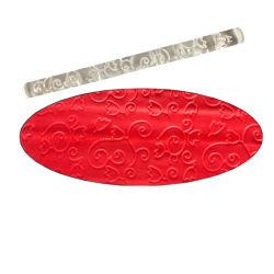아크릴 회전 핀 퐁당 케이크 느낌 회전 핀 생과자 롤러 돋을새김 굽기는 부엌 부속품을 도구로 만든다