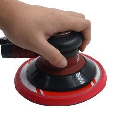 الخدمة الشاقة الخدمة المهنية الهواء عشوائي Orbital Palm ثنائي العمل تعمل بالهواء المضغوط أدوات الصنفرة مع كيس الغبار