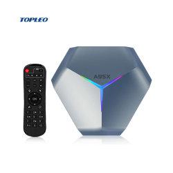 A95X F4 nuovo box TV Android personalizzabile S905X4 Bt4.1 Internet Smart TV Box Set Top Box Smart TV Box