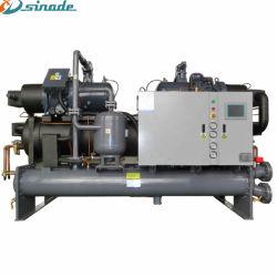 На заводе промышленных винт охладитель перевозчика с двумя компрессор