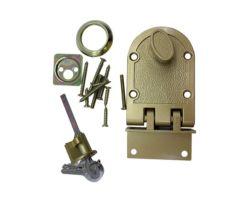 아연 자물쇠 바디 금관 악기 실린더와 고급장교 래치에 의하여 솔질되는 공단 니켈 끝마무리 변죽 자물쇠, 호랑이 자물쇠