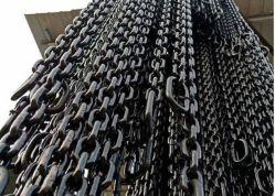 Gelaste zwarte kleur 10mm G80 lichtmetalen hijsketting van staal