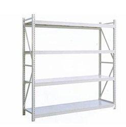 Utilisation commune d'affichage Rack rack de stockage de marchandises W-300 étagère avec plateau en acier prix d'usine métal