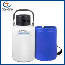 小型の Cow Semen 保管液体窒素コンテナ液体窒素 保管タンク極低温デュワーアルミニウム輸送デュワー瓶販売
