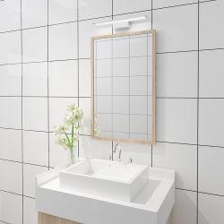 シンプルな設計アルミニウムおよびパソコンの物質的な6With8With12With15W浴室の壁ライトLEDによってつけられるミラーランプIP44