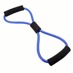 Tubo de bandas de resistência muscular Fitness tubos de ioga de exercícios de treino