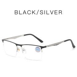 Nieuwe komst eenvoudige Polygon metalen bril frame Unisex harsens Anti-stralingsbril Blauw licht optisch frame