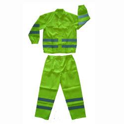 Veiligheidsbeschermende Construction Pants & Shirt Workwear voor heren met reflecterend Tape Overalls Prijs van de fabrikant Flyton FT-B111 J01