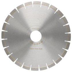 شفرات منشار حرير ذو شفره حريرية عالية التردد من الماس مقاس 350 مم 14 بوصة للرخام الجرانيت