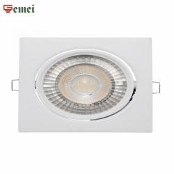 El ahorro de energía de techo Lámpara LED 8W Downlight Iluminación Foco ajustable de la luz de la plaza RoHS CE