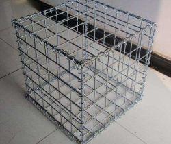 De grandes quantités de cages de gabions de clôture de soudage avancé
