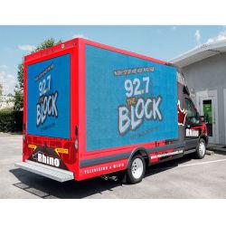 شاحنة متنقلة خارجية السيارة P5 الإعلانات شاشات عرض LED السعر