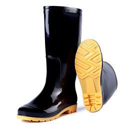 Промышленные ПВХ дешевые безопасности дождя ботинки обувь обувь