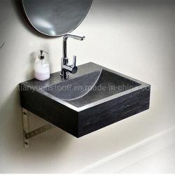 대리석 결합의 벽걸이형 세면대 미니멀 아트 욕실 가구 화장실, 발코니 세면대