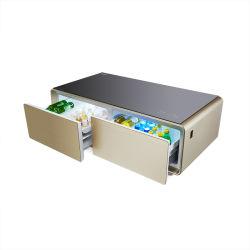 Wohnungs-Kühlraum-Partei-Tee-Tisch-Gefriermaschine-intelligenter Kaffeetisch-Musik-Kühlraum