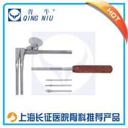 Instrumento médico Retractor Cervical instrumental quirúrgico