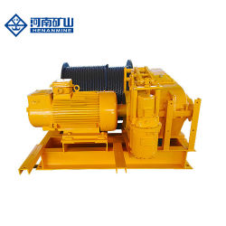 構築および低下の発電所の電気制御のウィンチ