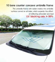 Автомобильная Корпорация Sun Shade рампы зонтик / Auto солнцезащитная шторка стекла передней обложки / защиты лобового стекла автомобиля зонтик / Автостоянка солнцезащитных навесов блок зонтик (CU-001W)