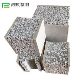 E. P Casas prefabricadas 5cm espesor compuesto movible ligero partición pared