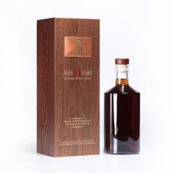 Luxe Single Bottle Art Paper Cardboard Magnetic Wine Gift Box