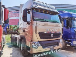 핫 세일 시노트루크 유로화4 HOWO T7 트랙터 트럭/트랙터/트랙터 사용 헤드 트럭(맨엔진 포함