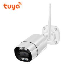 2.0MP HD 야간 Vision WiFi 네트워크 IP 카메라 제조업체 2 웨이 오디오 IP66 방수 투야 Smartlife 미니 초고속 무선 카메라