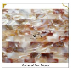 Top Quaity Oil Flower Color naadloze Shell Mozaïek Tile Natural Moeder van Pearl Mosaic voor rugspetters