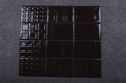 120X180 مم الشوكولاته الداكنة/القهوة أنماط الزهور البلاط غرفة المعيشة الجدار البلاط المطبخ مع الرذاذ