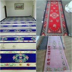 2020 Nieuw Design Groothandel Hoge kwaliteit moslim tapijt speled mat Fabriek Polyester Gebedmatten Isliam Fashion tapijten Print Mat tapijt Gesneden dekens Leverancier