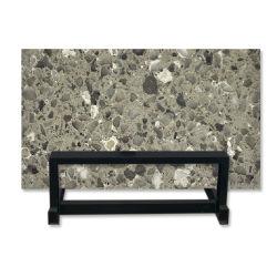 台所カウンタートップのための灰色の人工的な水晶石