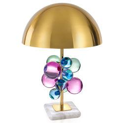 Venda por grosso Crystal LED Globo Hotel Quarto decorativos candeeiro de mesa