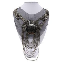 De style européen et américain l'industrie lourde d'usure Collier de perles de faux Commerce de gros