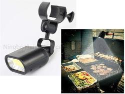 Многофункциональный портативный Суперяркий барбекю початков лампа 6 Вт, 360 градусов для барбекю на открытом воздухе