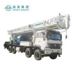 Le HFC600 600m de profondeur hydrauliques de l'eau de forage Forage montés sur camion et appareil de forage rotatif