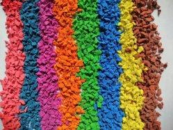 Tecla colorida de alta qualidade e grânulos de borracha EPDM-Z-2104256