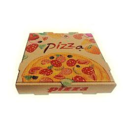 Il contenitore di imballaggio su ordinazione della pizza del cartone del commestibile toglie la cassetta postale impaccante